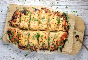 Cauliflower Crust Pizza Bites l sherisilver.com