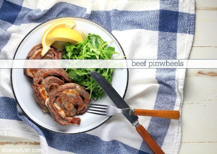 Beef Pinwheels l sherisilver.com
