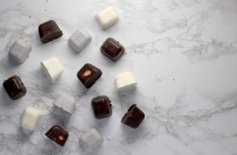 Ice Cube Tray Chocolates l sherisilver.com