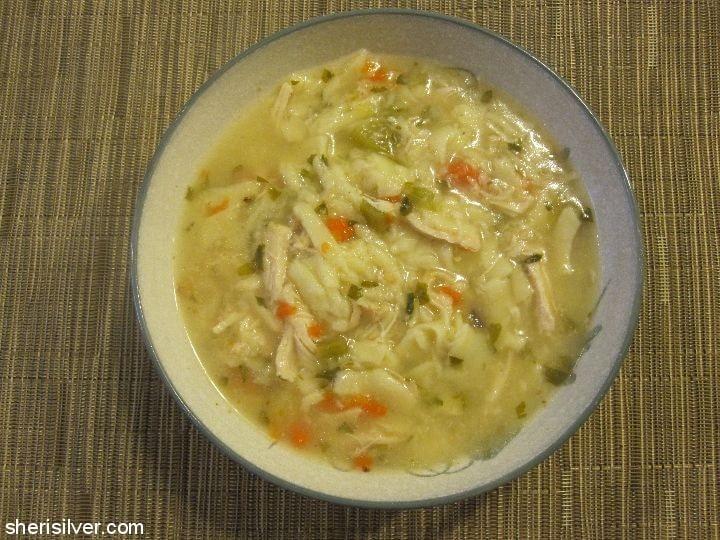 Chicken Noodle Soup l sherisilver.com