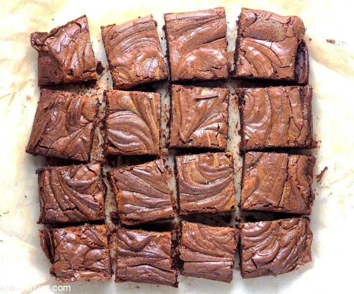 Gluten Free Brownies l sherisilver.com