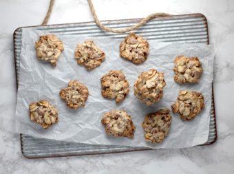 3 Ingredient Vegan Almond Cookies l sherisilver.com