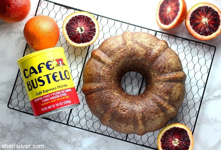 Blood Orange Cake l sherisilver.com #ad