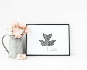 Marcie Cuff Tulip Poplar Print l sherisilver.com