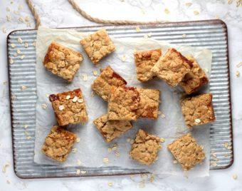 Apricot Oatmeal Bars l sherisilver.com