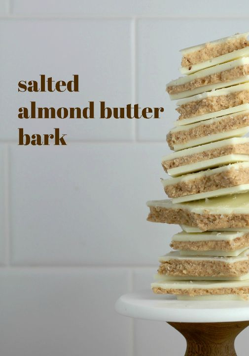 Salted Almond Butter Bark l sherisilver.com