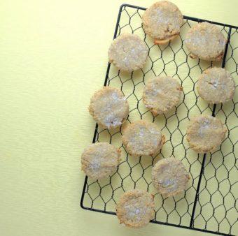 Coconut Almond Flour Cookies l sherisilver.com