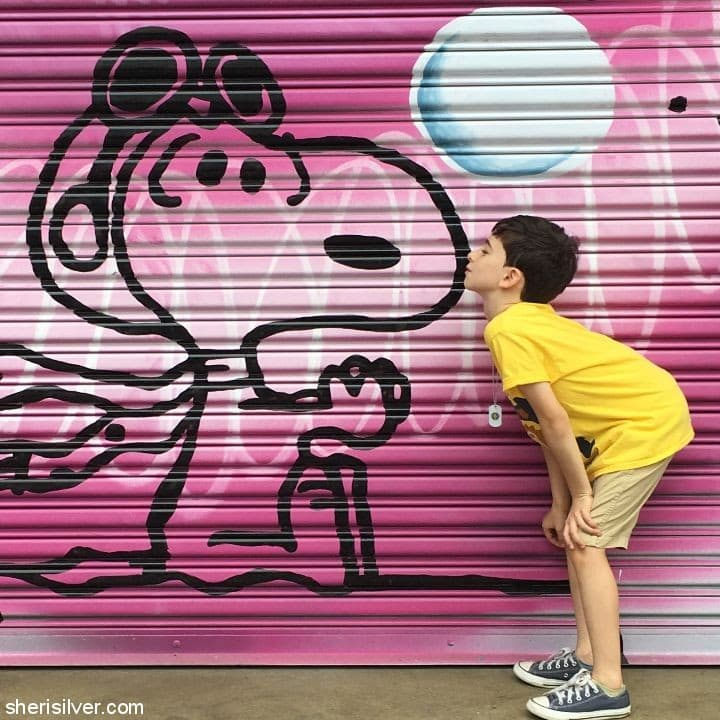 Peanuts Global Artists Collective l sherisilver.com