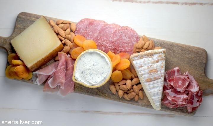 A Perfect Cheese Board l sherisilver.com