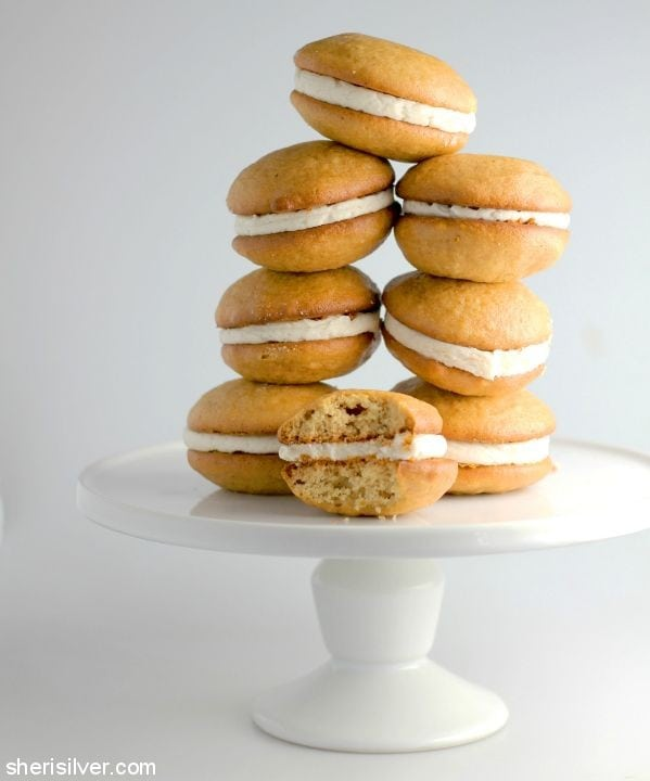 Honey Cake Whoopie Pies l sherisilver.com