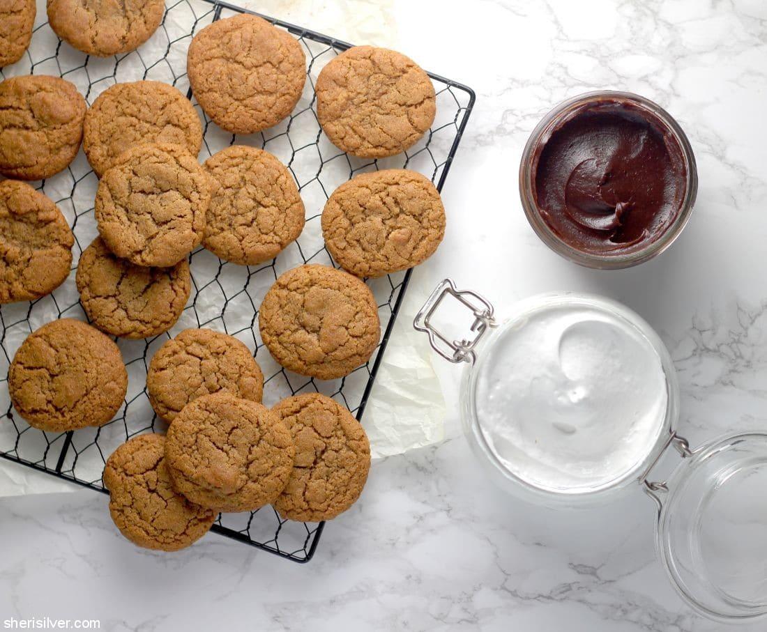 S'mores Cookies l sherisilver.com