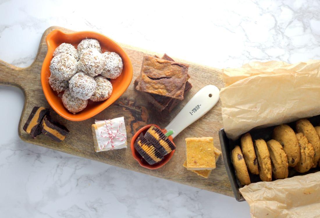 Low Sugar Pumpkin Desserts l sherisilver.com