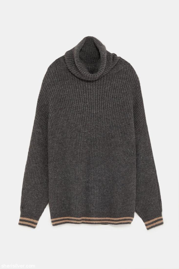 Zara Oversized Sweater l sherisilver.com