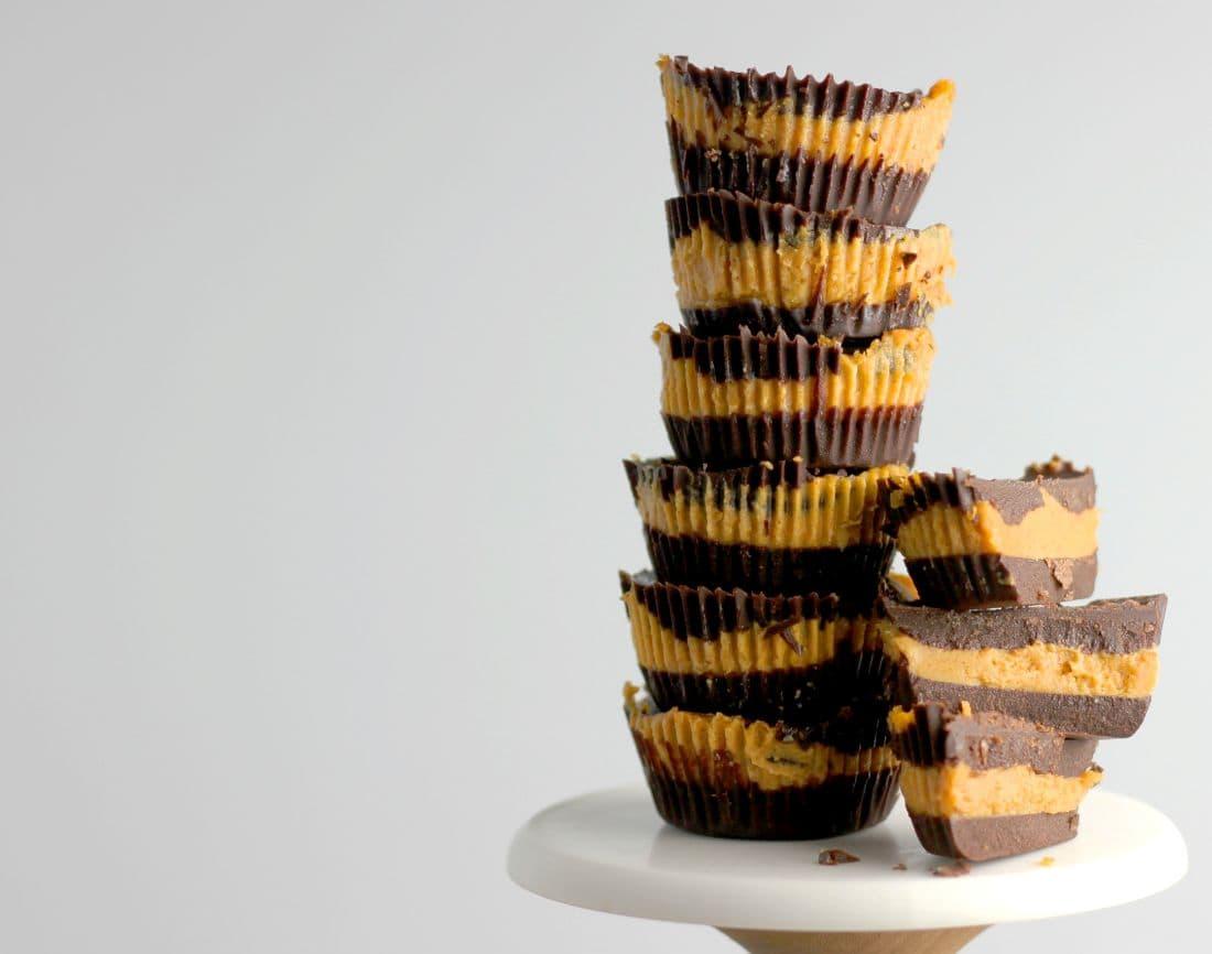 Pumpkin Peanut Butter Cups l sherisilver.com