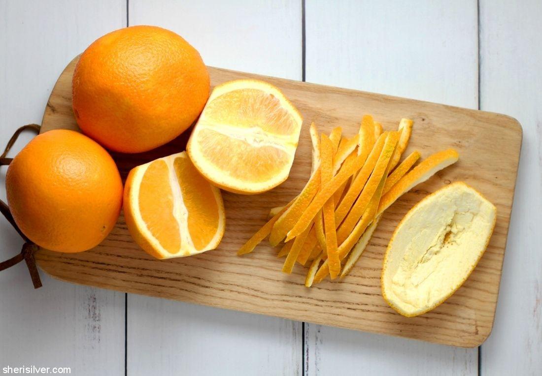 Candied Orange Peels l sherisilver.com