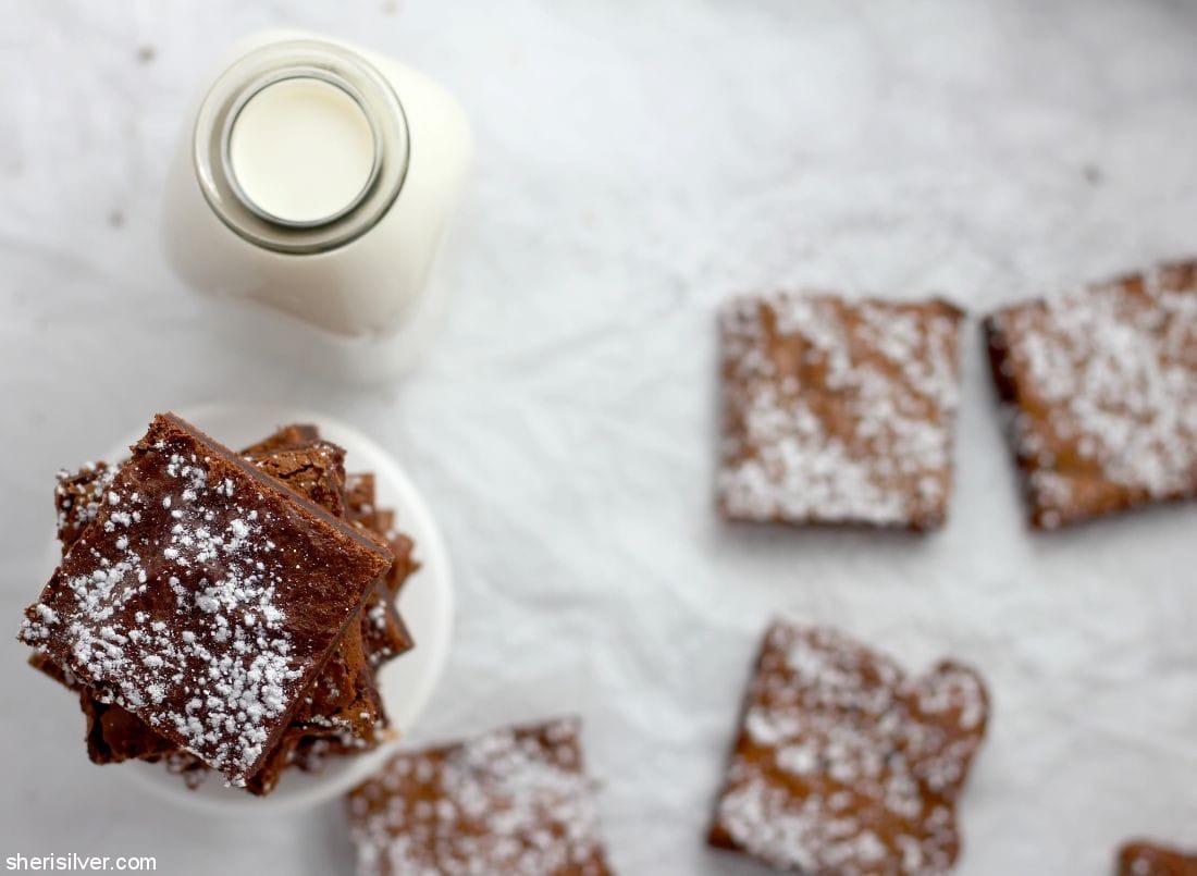 Nutella Brownies l sherisilver.com