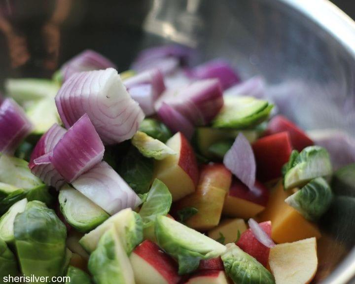 roasted fall salad