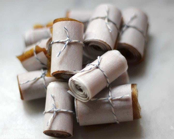 apple pumpkin fruit rolls
