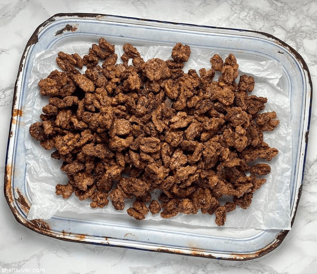Spiced Nuts l sherisilver.com