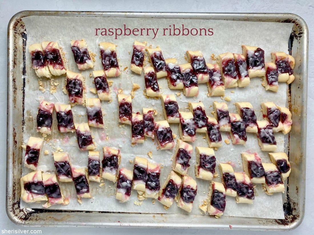 Raspberry Ribbons l sherisilver.com