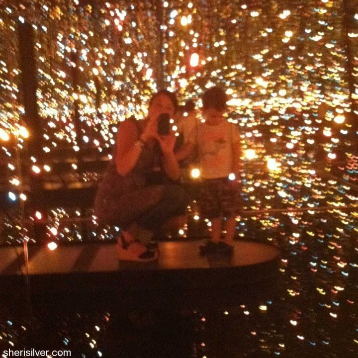 whitney museum, fireflies on the water