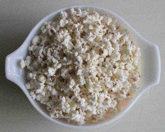 popcorn with truffle salt