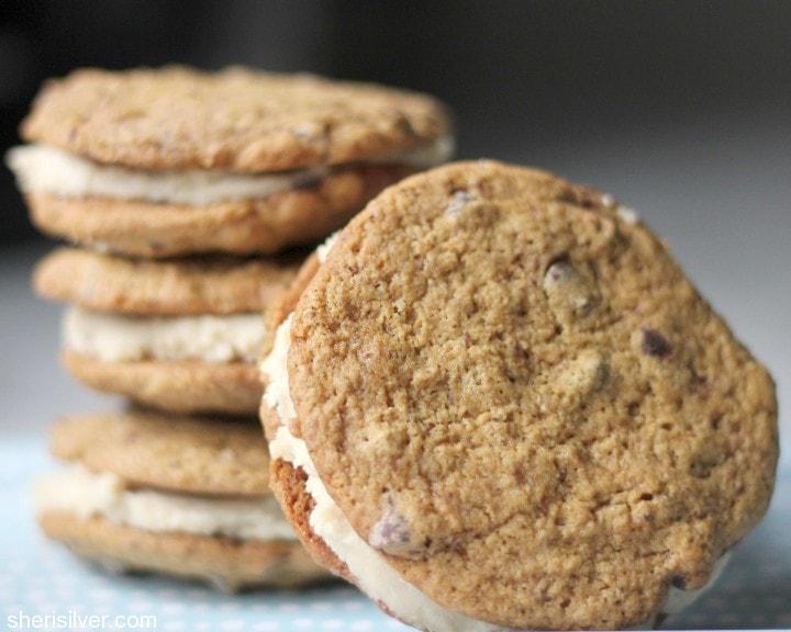 babycakes vegan sandwich cookie