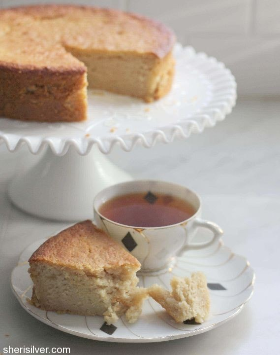 honey lemon olive oil cake