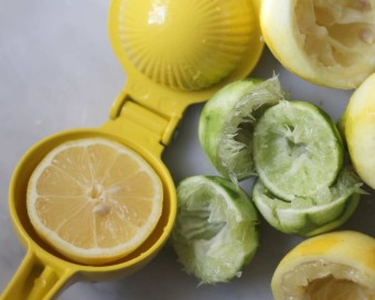 juicing and zesting citrus