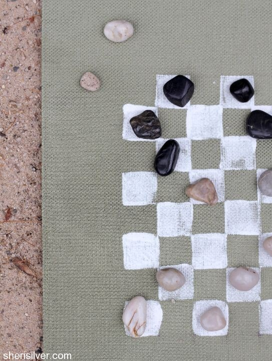 diy beach board game