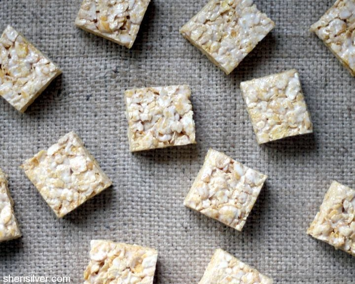 salted brown butter cereal bars