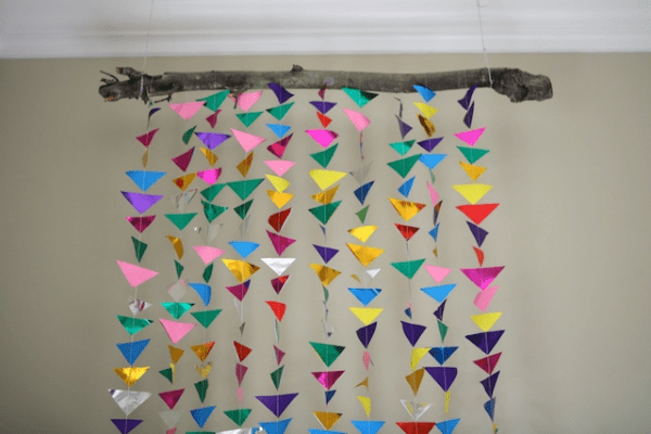 my life at playtime hanging triangle garland