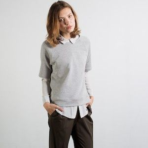everlane short sleeve sweatshirt