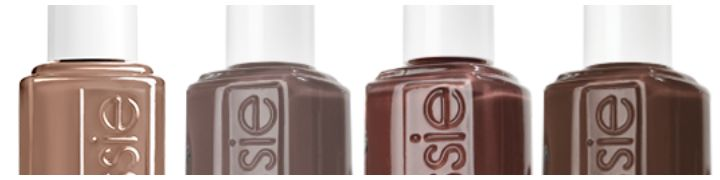 essie tans and browns