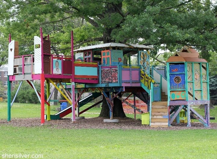 governors island tree house
