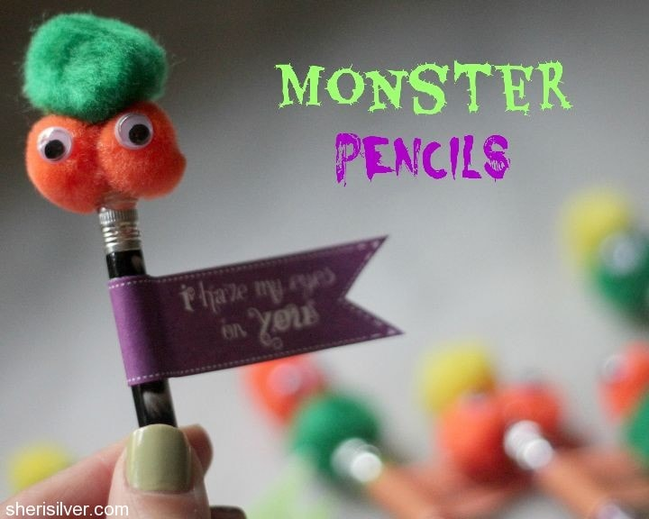 monster pencils