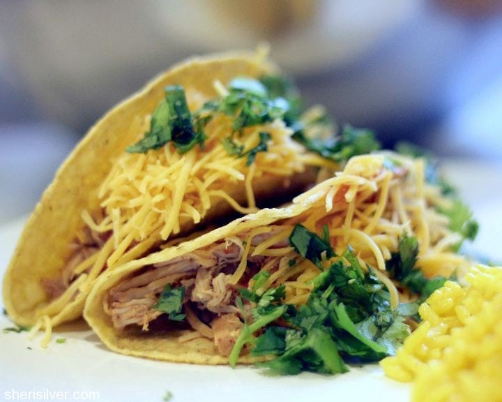 chili chicken tacos