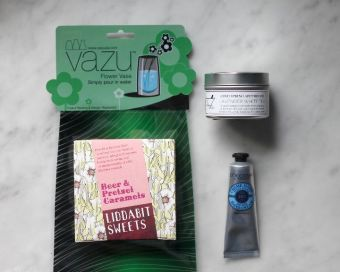 vazu, liddabit sweets, cold spring apothecary, l'occitane