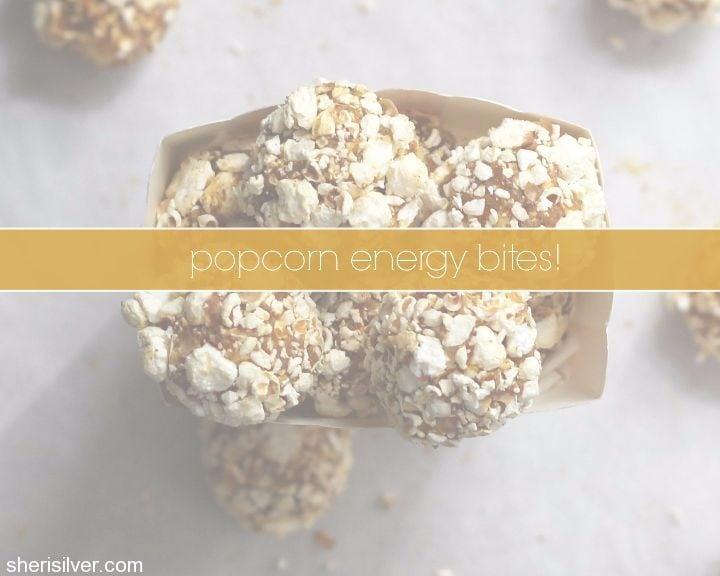 popcorn energy bites