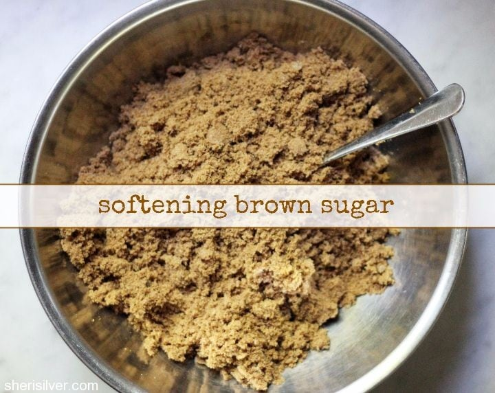softening brown sugar