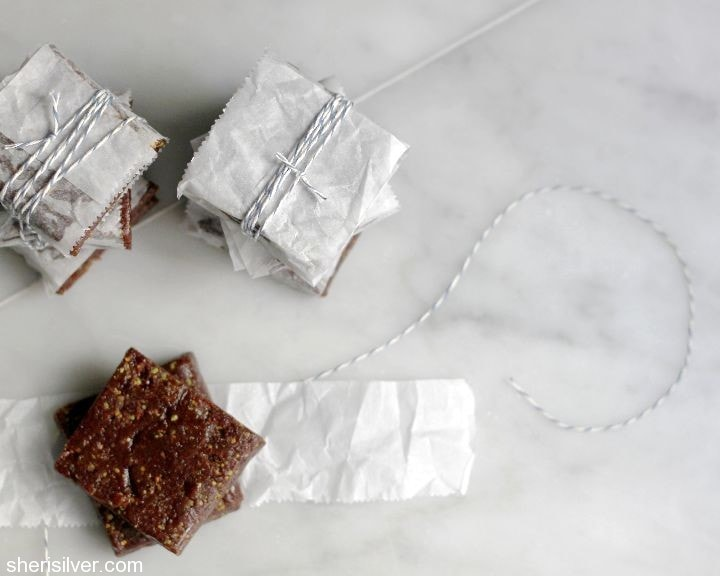 three ingredient energy bars