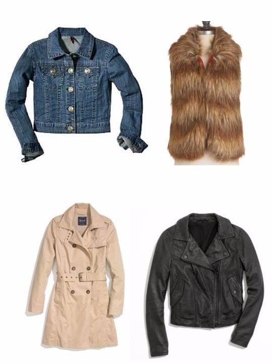 o/n15 capsule wardrobe jackets