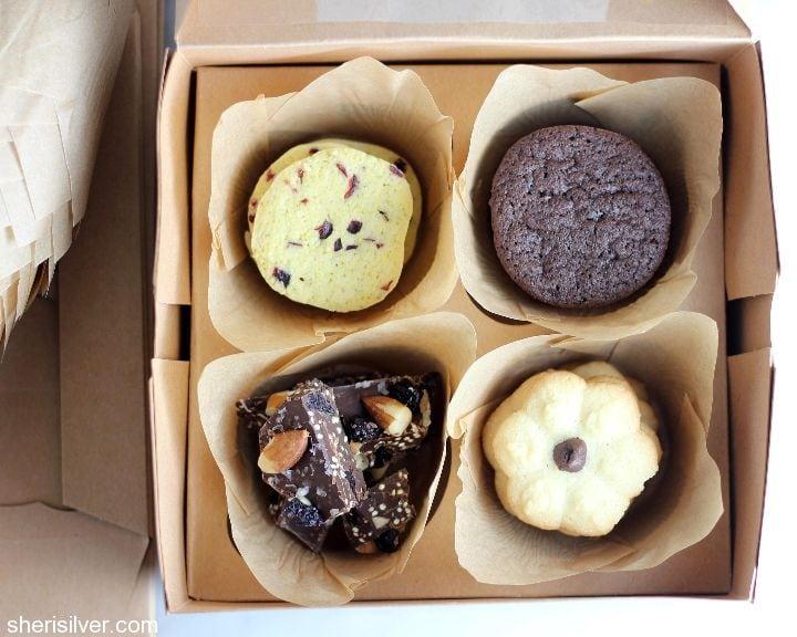 cupcake box cookie packaging