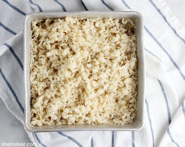 perfect white or brown rice