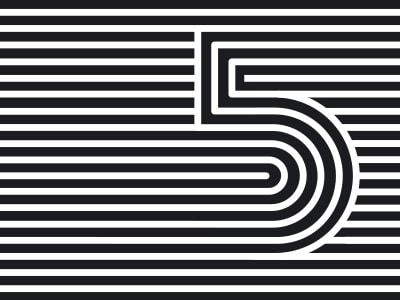 striped five