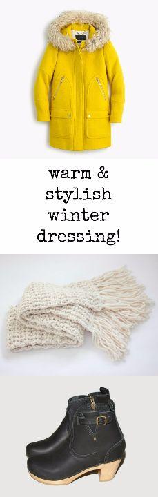 winter dressing tips