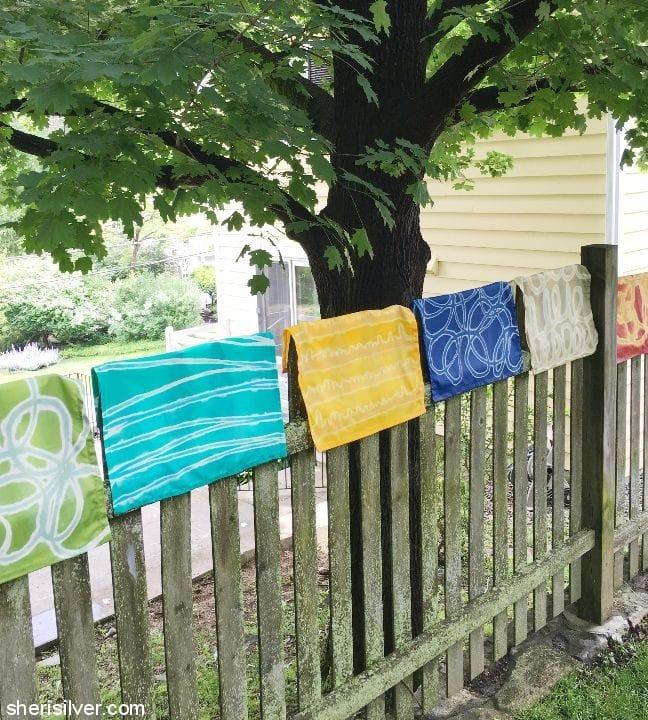 diy-painted-napkins #shop