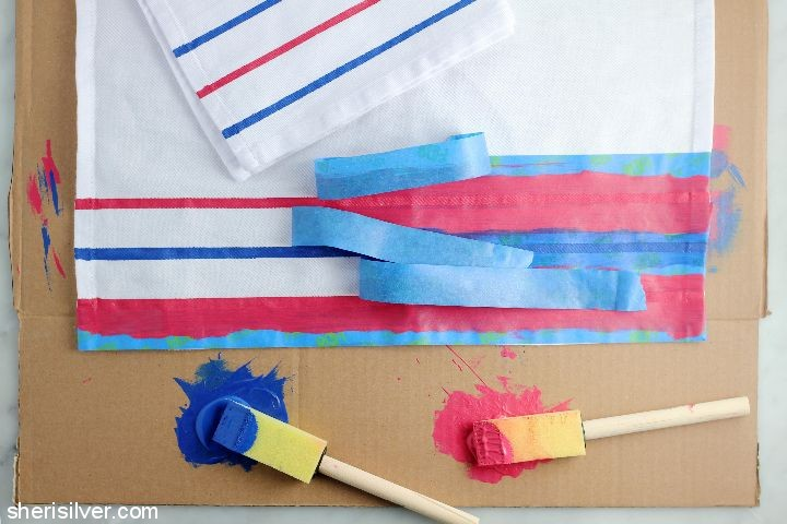 diy-painted-napkins #shop