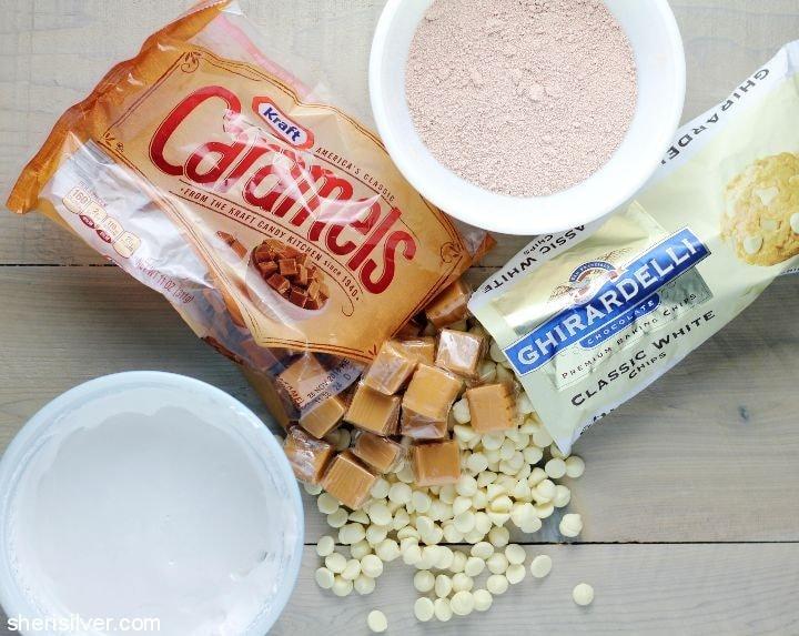 white chocolate milky way bars