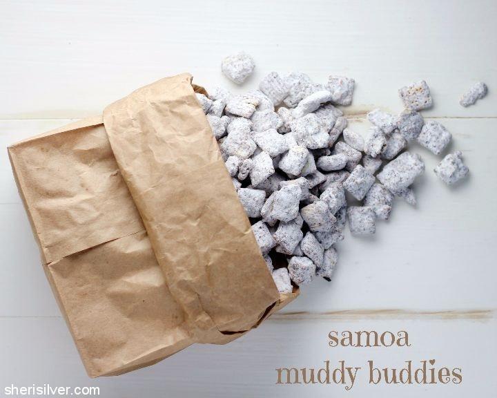 samoa muddy buddies